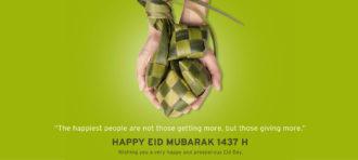 HAPPY EID MUBARAK 1437 H
